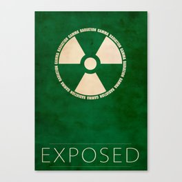 Exposed Canvas Print