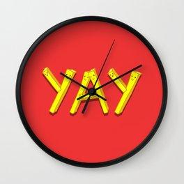 FryYAY! Wall Clock