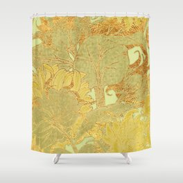 Sunflowers Golden Garden Shower Curtain