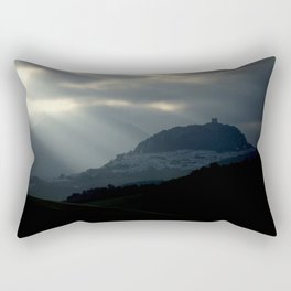 Castle village Rectangular Pillow