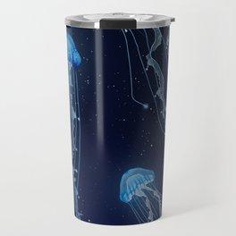 Space Jellies Travel Mug