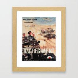 Vintage poster - Royal Air Force Framed Art Print