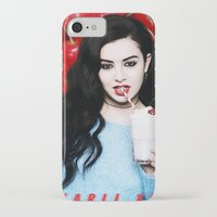 charli xcx iPhone & iPod Cases featuring Charli XCX  by Illuminany