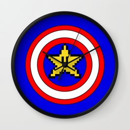 Captain Mario Wall Clock