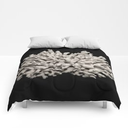 White dried coral branch Comforters