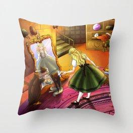 The Kakuna Haberdashery Throw Pillow