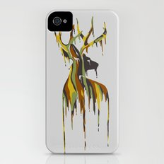 Painted Stag Slim Case iPhone (4, 4s)