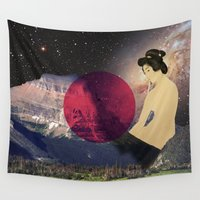 japan Wall Tapestries featuring Japan by Blaz Rojs