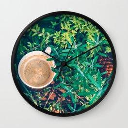 A new day new sunshine Wall Clock