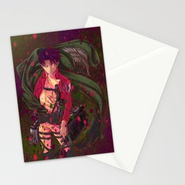 Attack On Titan - Levi Ackerman (Version 4/5) Stationery Cards