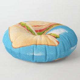 Ethereal Sandwich Floor Pillow