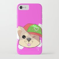shiba iPhone & iPod Cases featuring fashion shiba by Donald