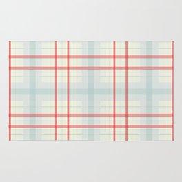 Light plaid pattern Rug