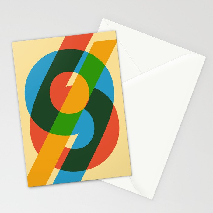 six to nine Stationery Cards