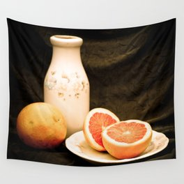 Grapefruits Wall Tapestry