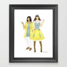 Fashion Journal: Day 22 Framed Art Print