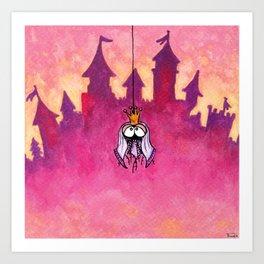 Little spiderprincess Art Print