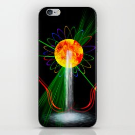 Light and water iPhone Skin