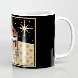 Christmas Nativity - Stable Amanya Design Coffee Mug