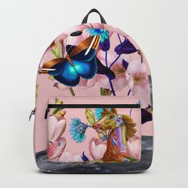 Moon Horse #collage Backpack