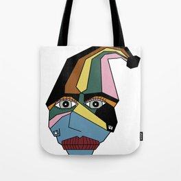 Woman in Hat Tote Bag