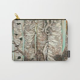 Birchen Forest Carry-All Pouch