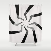 socks Shower Curtains featuring Socks by •ntpl•