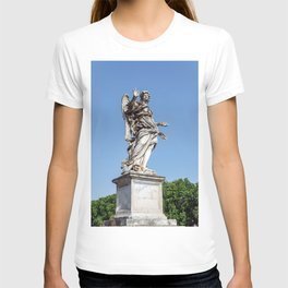 Angel with the Nails at the Sant'Angelo bridge - Rome, Italy T-shirt