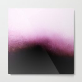 Surrender - Mulberry Purple Ombré Metal Print