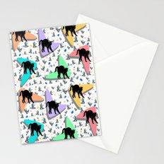 Retro Kitty Stationery Cards