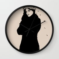 spanish Wall Clocks featuring SPANISH SAHARA by Stephan Parylak