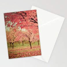 Wind and Leaves Stationery Cards