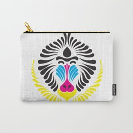 CMYK mandrill Carry-All Pouch