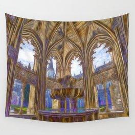 Batalha gothic Wall Tapestry