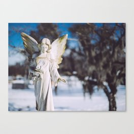 Lady of the Dead Canvas Print