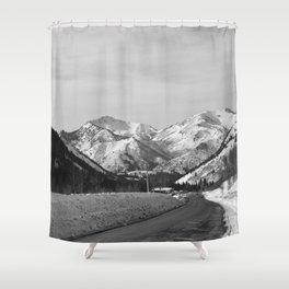 Big Cottonwood Canyon Shower Curtain