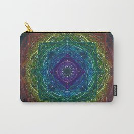 Colorful Chakra Mandala Carry-All Pouch