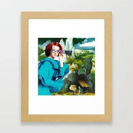 Hipster Saint-Seeing Framed Art Print