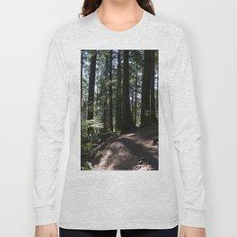 Quarry Rock Deep Cove trail 3 Long Sleeve T-shirt