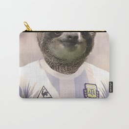 Football Sloth Carry-All Pouch