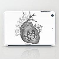 radiohead iPad Cases featuring RADIOHEAD HEART by Estelle Couraye