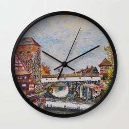 Nuremberg, Germany Wall Clock