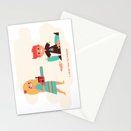 I Love You to Pieces Stationery Cards