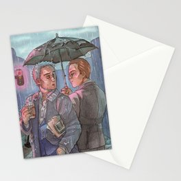 Don't go Home just Now [Mystrade] Stationery Cards