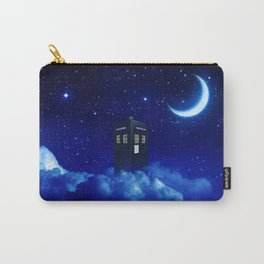 Tardis in Cloud Starry Night Carry-All Pouch