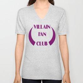 Villain Fan Club Unisex V-Neck