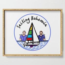 Beard Boy: Sailing Bohemia Serving Tray