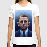 james bond T-shirts featuring James Bond by Vincent Leung
