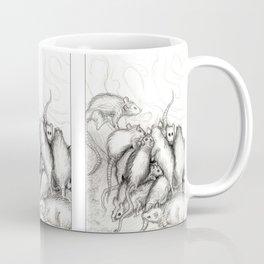 Rats Feeding on Milk Coffee Mug