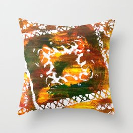 Aztec Culture Throw Pillow